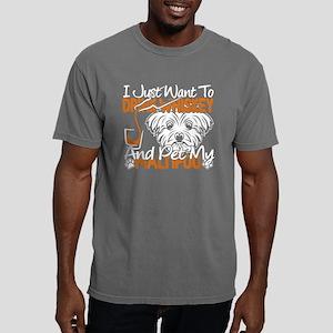 PET MY MALTIPOO DOG T-SH Mens Comfort Colors Shirt