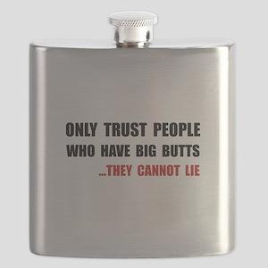 Trust Big Butts Flask