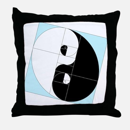 Yin Yang Golden Ratio Math Egg Fibonacci Phi Pillows Yin Yang