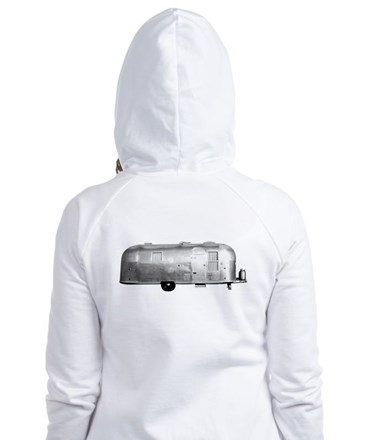 Airstream Trailer Fitted Hoodie