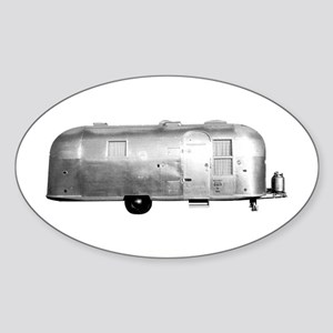 Airstream Trailer Oval Sticker