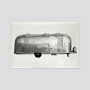 Airstream Trailer Rectangle Magnet