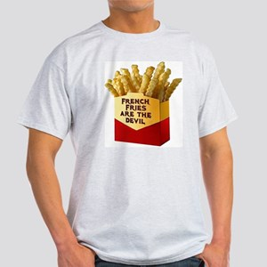 French Fries Ash Grey T-Shirt
