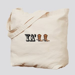 Yall Boots Tote Bag