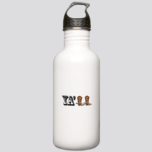 Yall Boots Water Bottle