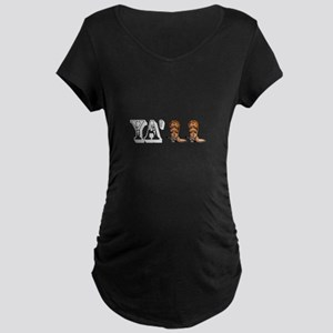 Yall Boots Maternity T-Shirt