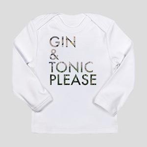 gin tonic please Long Sleeve T-Shirt