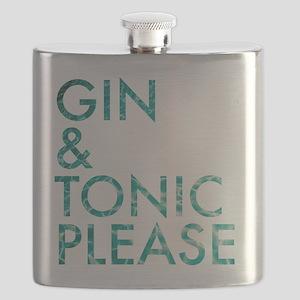 gin tonic please Flask