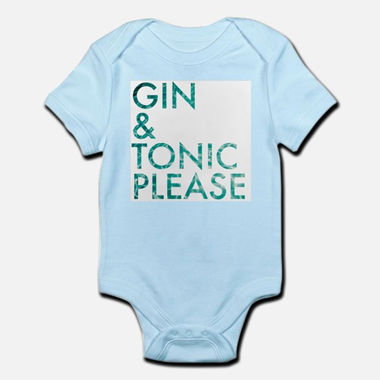 gin tonic please Body Suit