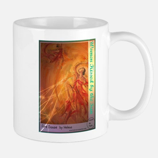 Women Kissed by the Sun Mug