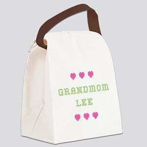 Grandmom Lee Canvas Lunch Bag