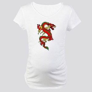 Red Dragon Maternity T-Shirt