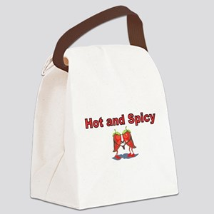 Hot and Spicy Canvas Lunch Bag