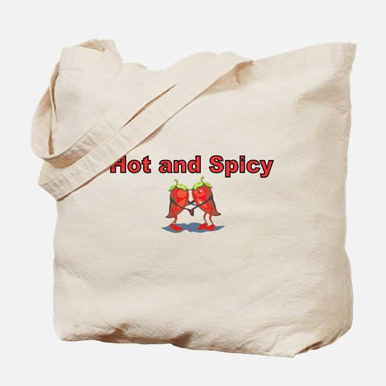Hot and Spicy Tote Bag