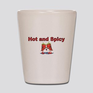 Hot and Spicy Shot Glass