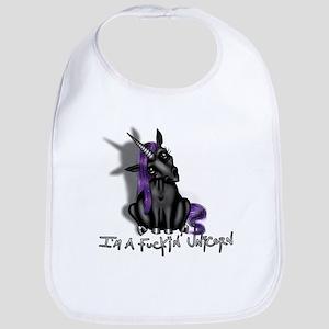 Ima Fuckin Unicorn /Black Bib
