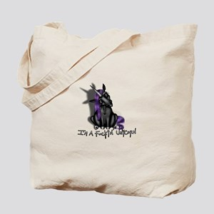 Ima Fuckin Unicorn /Black Tote Bag