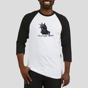 Ima Fuckin Unicorn /Black Baseball Jersey