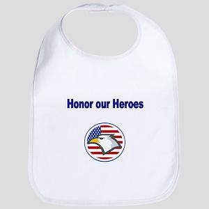 Honor our Heroes Bib