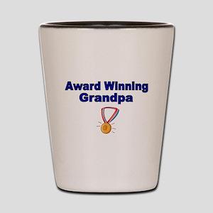 Award Winning Grandpa Shot Glass