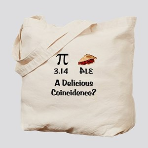 Pi Coincidence Tote Bag
