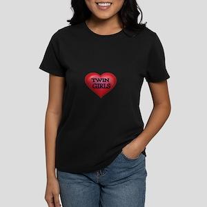 Heart-Twin Girls T-Shirt