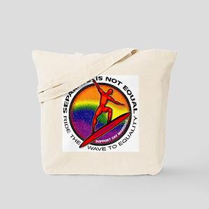#1 Gay Marriage Tote Bag