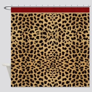 Cheetah Animal Print copy Shower Curtain