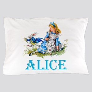 ALICE IN WONDERLAND - BLUE Pillow Case