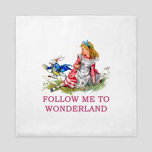 ALICE - Follow Me To Wonderland Queen Duvet