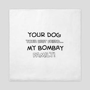 Bombay Cat designs Queen Duvet