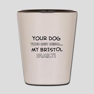 Bristol Cat designs Shot Glass