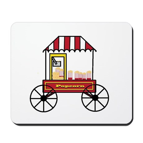 Popcorn Cart Mousepad