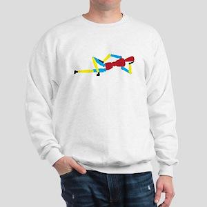 Colorful Mannequin Sweatshirt