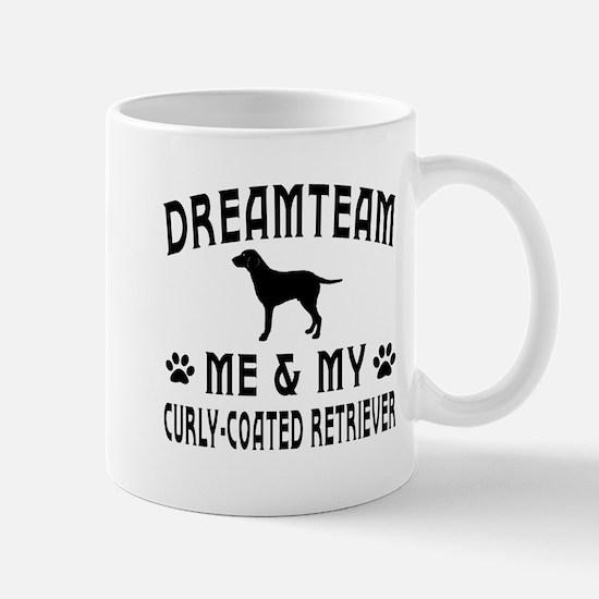 Curly-Coated Retriever Dog Designs Mug