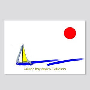 Mission Bay Postcards (Package of 8)