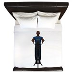 Molon Labe (Gatling, Male) King Duvet