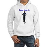 Molon Labe (Gatling, Male) Hooded Sweatshirt