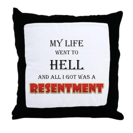 My life Throw Pillow