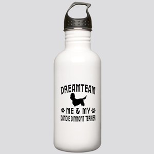 Dandie Dinmont Terrier Dog Designs Stainless Water