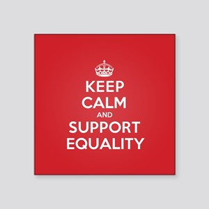 K C Support Equality Sticker