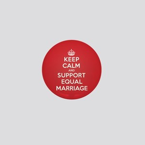 K C Support Equal Marriage Mini Button