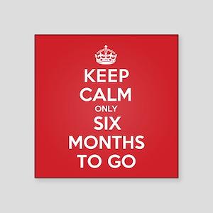 K C six Months Sticker