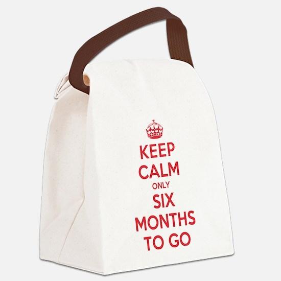 K C Six Months Canvas Lunch Bag