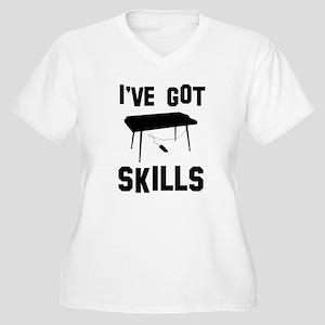 Keyboard Designs Women's Plus Size V-Neck T-Shirt