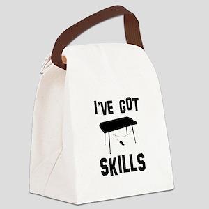 Keyboard Designs Canvas Lunch Bag