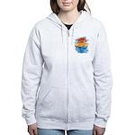 Atom Sea #21 Women's Zip Hoodie