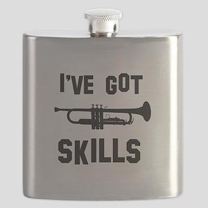 Trumpet Designs Flask