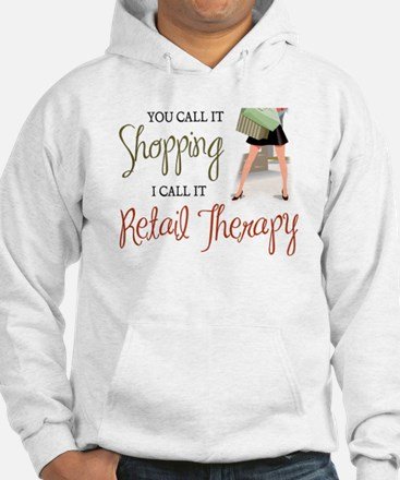 Retail Therapy Jumper Hoody
