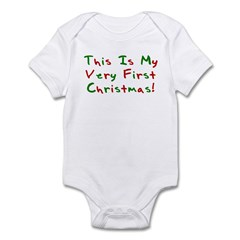 This Is My Very First Christm Infant Bodysuit